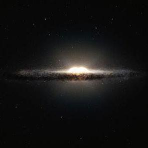 جدیدترین نقشه سهبعدی از هسته بادامی شکل کهکشان راه شیری