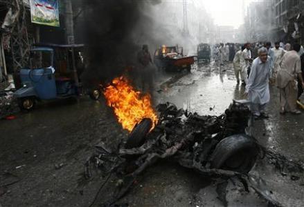 فزایش آمار تلفات و زخمیهای انفجارهای پیشاور