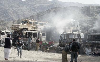 حمله طالبان به پاسگاههای پلیس افغانستان با ۲۱ کشته وزخمی