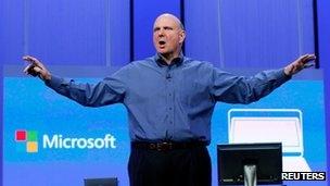 خداحافظی استیو بالمر از مایکروسافت