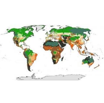 تهیه نقشه مناطق پر خطر زمین در برابر تغییرات اقلیمی