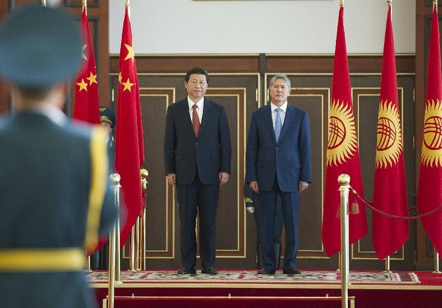 Xi Jinping- almazbek Atambaev