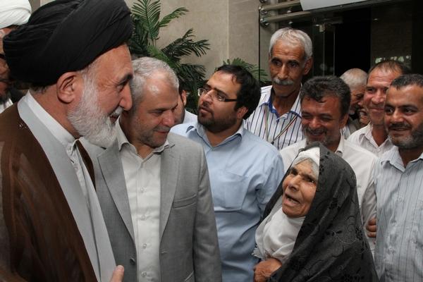 بازدید سرپرست حجاج ایرانی از اقامتگاه زائران ایرانی