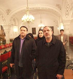 بازدید رئیس شورای شهر از مجموعه فرهنگی تاریخی نیاوران