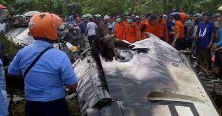 اصابت صاعقه یک فروند هواپیما را در اندونزی ساقط کرد