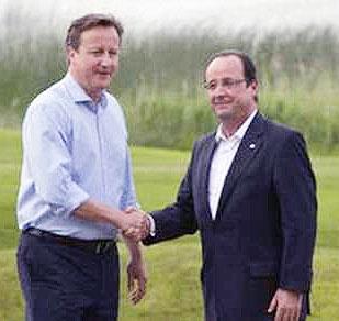 سفر رییس جمهوری فرانسه به انگلیس