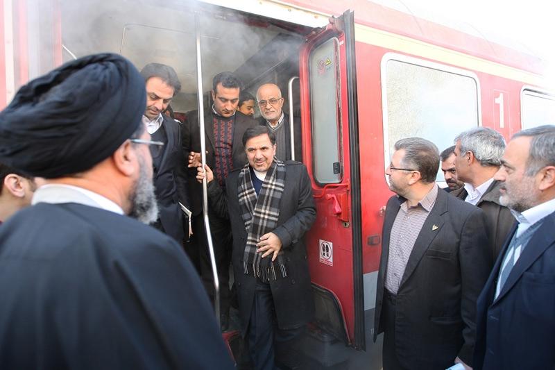 تصاویر سفر وزیر راه و شهرسازی به قزوین