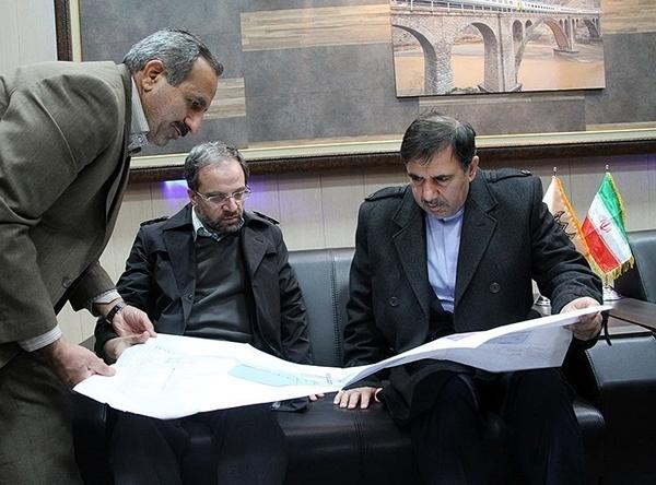 تصاویر بازدید وزیر راه و شهرسازی از پروژههای عمرانی خراسان رضوی