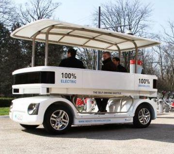 فروش نخستین خودروی بدون راننده جهان