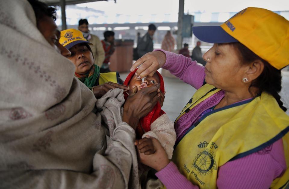 هند به سوی ریشهکنی فلج اطفال پیش میرود