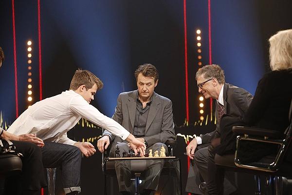 شطرنج با بیل گیتس