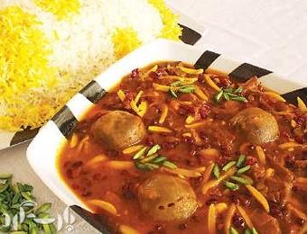 آشنایی با روش تهیه خورش خلال بادام - غذای محلی کرمانشاه