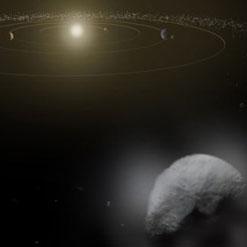 بخار آب بر روی بزرگترین سیارک منظومه شمسی