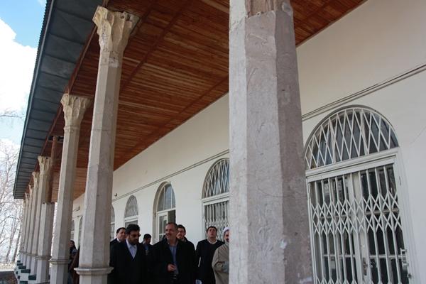 بازدید مسجد جامعی از تافتههای جدا بافته