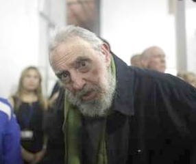 فیدل کاسترو پس از ۹ ماه غیبت در انظار عمومی حاضر شد