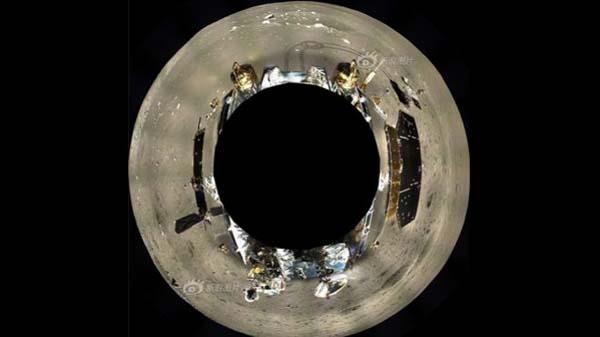 پانورامایی از ماه