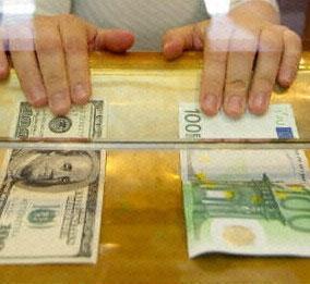 ارزش یورو در برابر دلار کاهش یافت