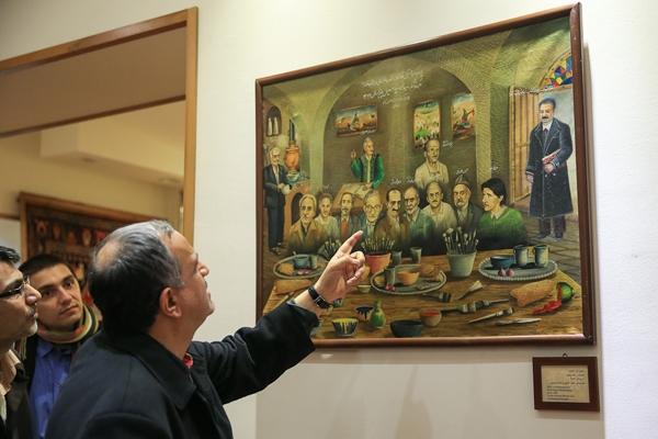 افتتاح رسمی گنجینه مرحوم دکتر حسن حبیبی در ۱۲ بهمن ۹۲