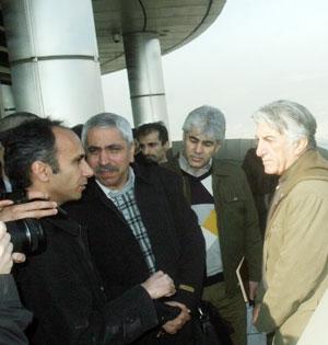 برج میلاد؛ روزنامهنگاران و  رضا کیانیان بر فراز شهر