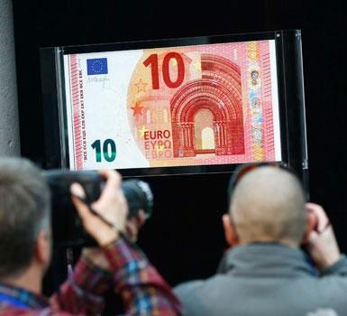 اسکناسهای جدید ده یورویی وارد چرخه پولی شد