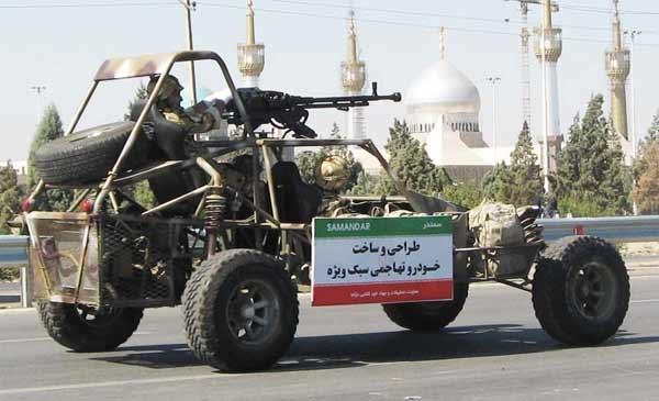 آشنایی با خودروهای تهاجمی ایران