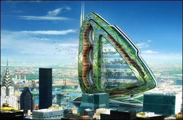 برجهای مسکونی قابل کشت و کار