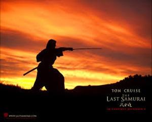 تام کروز در نمایی از آخرین سامورایی ۲۰۰۳ ساخته ادوراد زوئیک