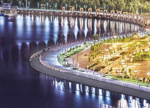 تقدیر سازمان کلانشهرهای جهان از ساخت دریاچه شهدای خلیجفارس