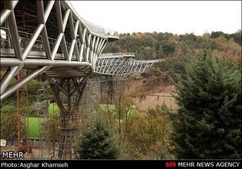 پل طبیعت ۲۰ مهر افتتاح میشود / پل طبیعت ؛ بزرگترین پل غیرخودرویی کشور