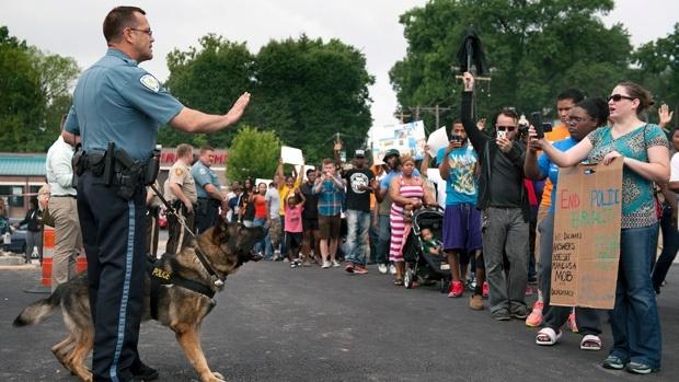 ادامه اعتراضات به اقدامات خشونت آمیز پلیس آمریکا