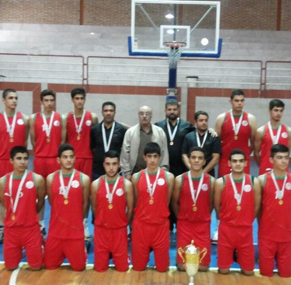 تهران قهرمان بسکتبال نوجوانان کشور شد