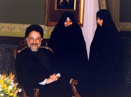 زهره صادقی همسر سید محمد خاتمی