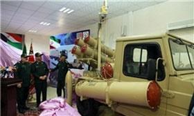 سامانه راکتی فلق و نخستین خودروی تاکتیکی سنگین کشور رونمایی شد