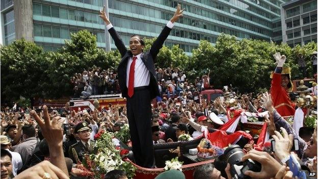 اندونزی؛ ادای سوگند رئیسجمهور جدید