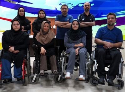 تیم تیراندازی معلولین