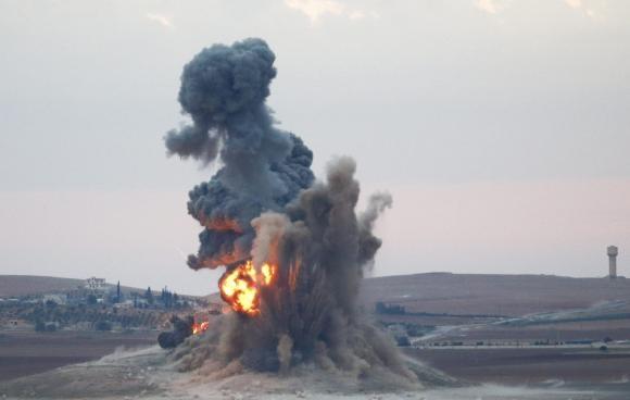 وقوع درگیریهای شدید میان کردها و تروریستهای داعش