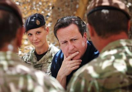دیوید کامرون: نظامیان انگلیس تا پایان امسال از افغانستان خارج می شوند