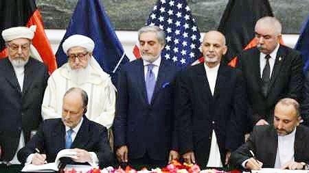 روسیه به افغانستان درمورد عواقب اجرای پیمان امنیتی با آمریکا هشدار داد