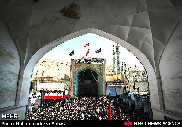 آیین سنتی قالیشویان در مشهد اردهال کاشان برگزار شد