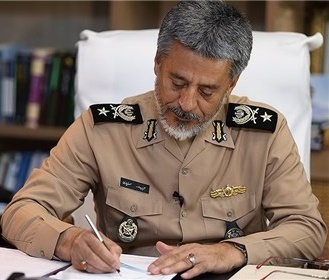 فرمانده نیروی دریایی ارتش روز پدافند غیر عامل را تبریک گفت