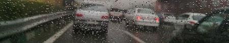 آخرین وضعیت آب و هوا و ترافیک راهها؛ بارش باران در ۸ استان