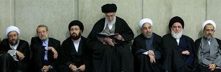 مراسم ترحیم آیت الله مهدویکنی با حضور رهبر معظم انقلاب برگزار شد