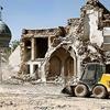 تخریب  دوباره بافت تاریخی شیراز در تاریکی شب