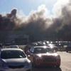 هواپیمای کوچک در کانزاس بر روی ساختمان فرودگاه سقوط کرد