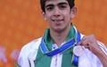 شاهین ایزدیار نشان نقره شنای ۵۰ متر آزاد را کسب کرد