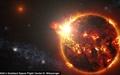 رصد قدرتمندترین شعله خورشیدی جهان