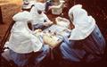 ابولا روزانه ۱۶۶۵ لیتر زباله تولید میکند