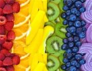 رنگین کمان غذایی با آسمانی از خواص