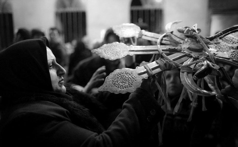 آیین علم بندان در شهر ماسوله