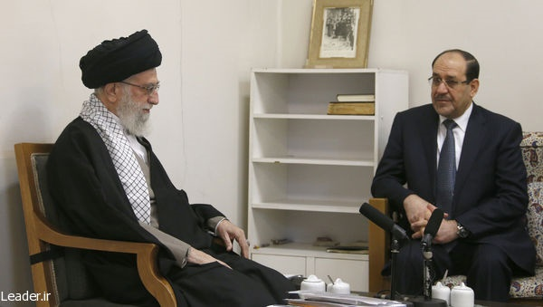 دیدار نوری مالکی معاون رئیسجمهور عراق با رهبر انقلاب